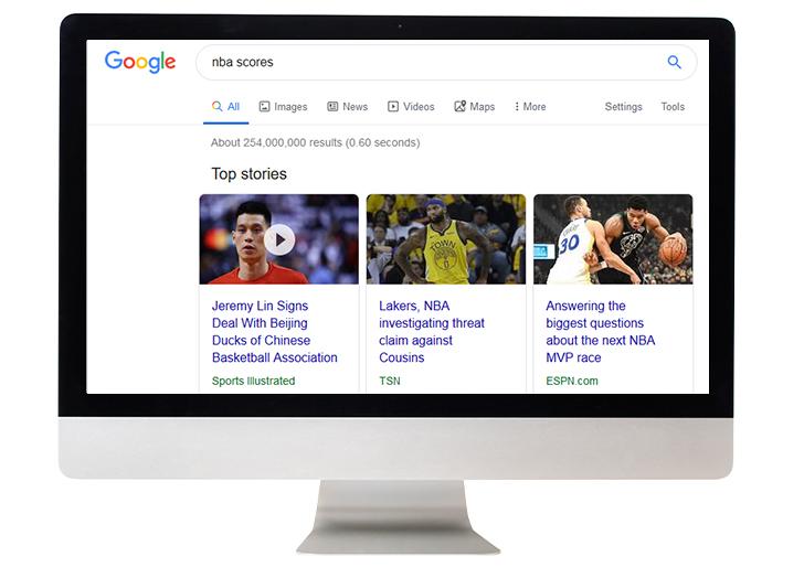 google-serp-information
